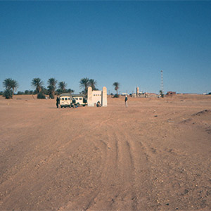 Between 1960 and 1961, four atmospheric nuclear weapons tests were conducted near the town of Reggane, in the Algerian Sahara Desert, before protests forced the French government to switch to underground testing at a new location. Photo: © AFP
